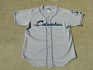 Vintage Columbus Clippers Wilson Jersey Size 50 Pre Owned Rare MLB Minor READ!