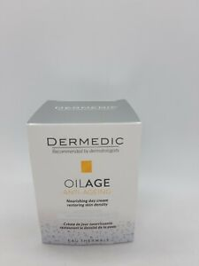 Dermedic Oilage Nourishing Day Cream Restoring Skin Density 2 X 50ml Sensitive