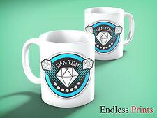 DAN TDM LOGO 11oz Mug - Birthday / Christmas Gift. The Diamond Minecart Cup (2)