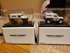 IN HAND - HOT WHEELS PERIOD CORRECT SET - MERCEDES G CLASS & LAND ROVER DEFENDER