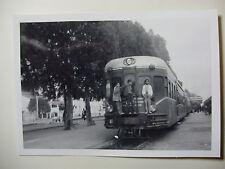 TUN10 - 1960s SNCF A VOIE ETROITE - TUNIS RAILWAY - TRAIN PHOTO Tunisia