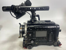Sony PMW F55 camera with OLED viewfinder and Vocas base plate