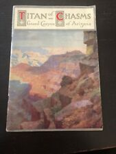 Grand Canyon Vintage Travel Magazine Rand McNally & Co. 1920/30?