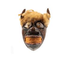 An Antique Diminutive Buffalo Mask