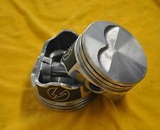 Sbc Speed Pro Chevy 383 Flat Top Pistons .30 Over 350