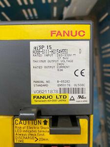 Fanuc Power Supply Module A06B-6110-H015 Vers.C GEB