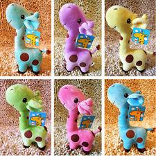 Baby Kid Child Girls Unisex Cute Gift Plush Giraffe Soft Toy Animal Dear Doll