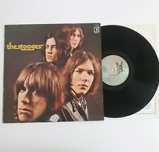 THE STOOGES S/T SELF TITLED VINYL LP 2ND PRESS ELEKTRA BUTTERFLY FRANCE 1972