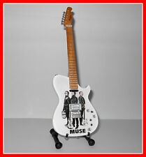 MUSE - GUITARE ELECTRIQUE MINIATURE ! Collection MATTHEW BELLAMY Mini photo