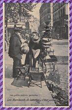 les petits métiers Parisiens - les Marchands de lunettes et d' Abat-jours