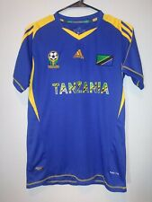 Adidas Youth Size L Tanzania National Soccer Climacool Jersey