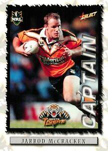 ✺New✺ 2000 WESTS TIGERS NRL Card JARROD MCCRACKEN