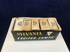 Sylvania BTD BULB BTD 20A-7V T5 C6FIL AV/Projector Exciter Lamps NOS Case of 10