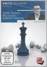 ChessBase: Collins - Ruy Lopez / Spanish Opening Tactic Toolbox - Spanisch - NEU