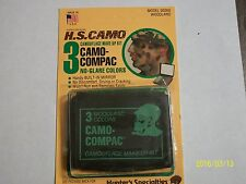 Camoflauge face paint / Hunting Makeup Kit with mirror ( 3 color) Halloween
