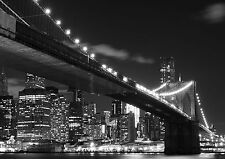 Puente de Brooklyn Foto Wallpaper Mural Manhattan Ny 360x254cm! enorme!