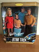 30th Anniversary Collector Edition Star Trek Giftset Barbie & Ken