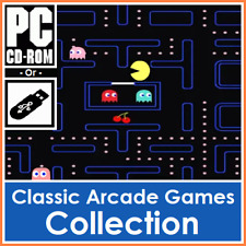 Classic Retro Arcade Games Collection PacMan, Space Invaders, Asteroids & More
