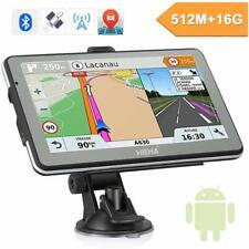 HIEHA 7'' Car Android GPS Navigation Sat Nav 16GB 512MB Bluetooth Player FM