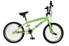 "NEW* XN-12-20 Kids Freestyle BMX Bike Boys Unisex 20"" Wheel Stunt Bicycle Green"