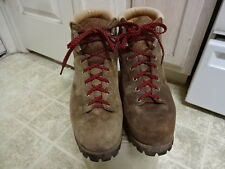 VINTAGE MADE IN ITALY 70'S VASQUE HIKING BOOTS NOT MUCH USED MEN 10.5 D