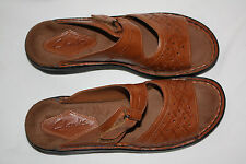 CLARK'S SANDALS LEATHER BROWN SIZE 7M NEW NEVER BEEN WORN