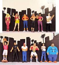 12 Lil Boricuas Puerto Rico Ricans Homies Figure Figurine 1.75 Homie Diorama Lot