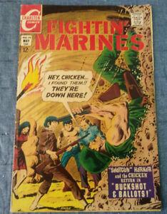 Charlton Comics Fighting Marines #79 Good  Plus Condition
