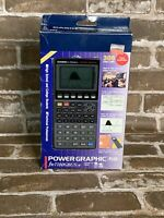 Vintage Casio Power Graphic Plus FX-7700GBW Scientific Calculator