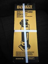 DeWalt DCS551B 20V Max Cordless Li-ion Rotary Drywall Cut-Out Tool