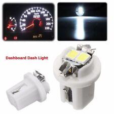 4x White T5 B8.5D 3528 2-LED Car Dash Gauge Instrument Wedge Lights Bulbs