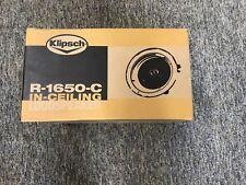 Klipsch R-1650-C In-Ceiling Speaker (Sold as Each)