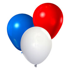 Red White & Blue Party Balloons x 30 / Queens 90th Birthday / Jubilee