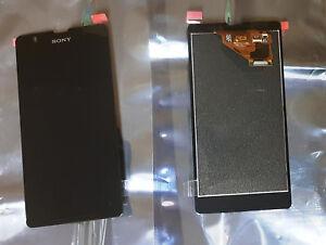 Sony Xperia ZR C5503 M36h Original LCD Display Digitizer Schwarz