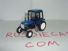 """MTZ-82 BlueBlack  Russian tractor """"Belarus"""" 1/43 scale model. Nowelty!"""