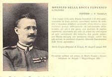 C4379) GRANTIERI, MOROZZO DELLA ROCCA DA PALERMO M.O. NELLA WW1.