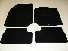 Nissan Micra 2008-2010 Fully Tailored Car mats in Black.