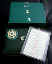NOS VINTAGE 50TH ANNIVERSARY ROLEX OYSTER BOXES CALENDAR JUBILEE 1976 1019 1665