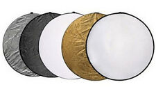 "5in1 33""  80cm Light Collapsible Panel Reflector diffuser For photography studio"
