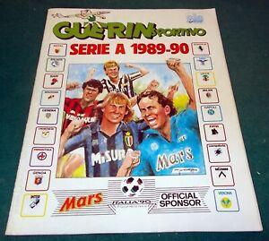 "GUERIN SPORTIVO Album di Figurine vuoto ""SERIE A"" 1989-90 - 1989-1990"
