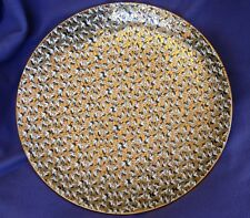 15 Inch Vintage Pre WWII Japanese Platter - 100's of Birds on a Gilded Sky