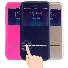 Inteligente Slide Magnetic Flip Cuero Fundas carcasas Case For iPhone 6S/6S Plus