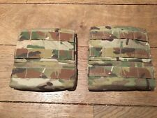 Crye Precision Multicam AVS 6x6 Side Plate Pouches With Molle. Cpc Jpc Carrier