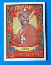 2017 TOPPS  Allen & Ginter . OZZIE SMITH . RIPPED RIP CARD . 35 / 60 . CARDINALS