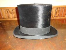 Antique Knox New York Top Hat with Hat Case, Vintage