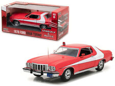1976 Ford Gran Torino Red Starsky And Hutch (1975-1979) TV Series 1/24 Model