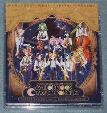 Sailor Moon Classic Concert 25th Anniversary 2-Disc Album CD Japon RELEASE NEUF