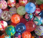 Crazy Bouncy Jumping Balls Set of 6 Assorted Multicolor Balls