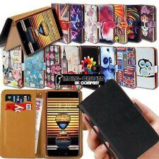 Pour Divers Meizu Série M Smartphones Cuir Support Smart Portefeuille Étui Coque