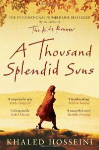 A Thousand Splendid Suns by Hosseini, Khaled Hardback Book The Cheap Fast Free